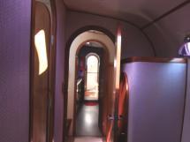 Coursive tribord (de la cabine arrière)