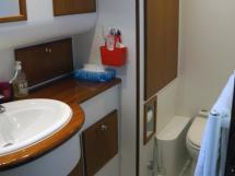 Searocco 1500 Trawler - Salle d'eau de la cabine centrale