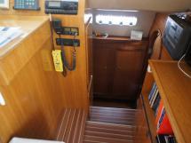 Descente coque tribord