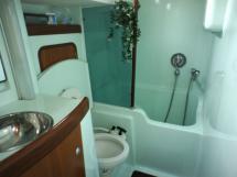 Salle d'eau Propriétaire (douche séparée dans baignoire sabot))