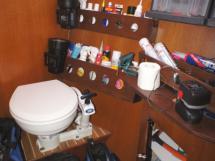 WC - atelier tribord arrière
