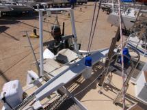 Portique arrière / Annexe et moteur