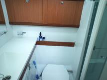 Salle d'eau arrière tribord