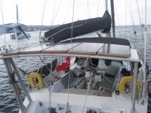 AYC - Lévrier des mers 16m / Portique arrière