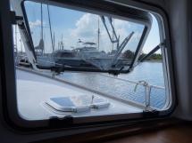 AYC - Trawler fifty 38 / Panneau ouvrant carré