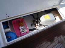 AYC - Trawler fifty 38 / Coffre cockpit