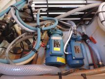 Membranes et pompe dessalinisateur