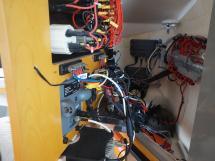 AYC - Lavezzi 40 / Arrière tableau électrique table à carte
