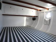 AYC Yachtbrokers - Tocade 50 - Couchage double de la cabine arrière