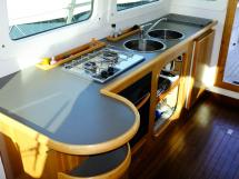 AYC Yachtbroker - Trawler Meta King Atlantique - Cuisine