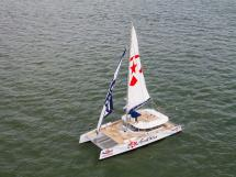 AYC - Day 1 85' sous voiles