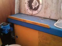 Douche WC babord (à ce jour)