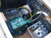 Meta Trawler 33 - Cale moteur