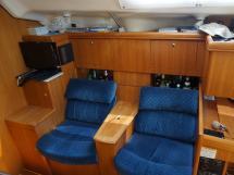 Hunter 466 - Fauteuils sur tribord