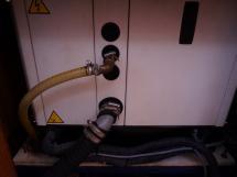 Hunter 466 - Générateur sous cocon