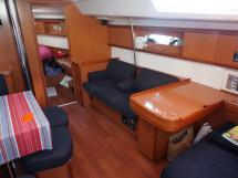 Oceanis 50 - Banquette tribord