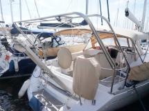 Sun Odyssey 49 i - Tableau arrière et portique