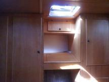 Chatam 40 Extrem - Rangements de la cabine avant