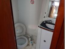 Oceanis 473 - Salle d'eau arrière