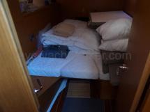 Jeanneau 53 - Cabine arrière tribord