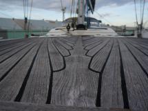 Hanse 531 - Pont teck