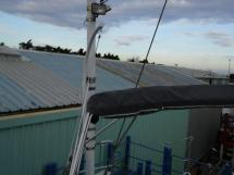 Hanse 531 - Mât porte-antennes