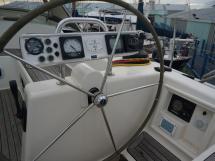 Hanse 531 - Poste de barre tribord