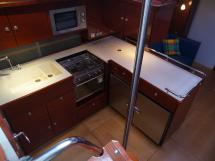 Hanse 531 - Cuisine en L