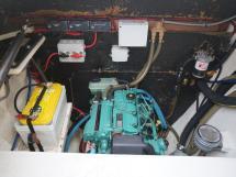 Nautitech 435 - Cale moteur tribord
