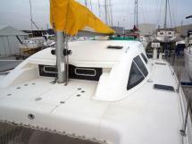 Nautitech 435 - Rouf et pied de mât