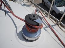 Oceanis 430 - Winch de cockpit