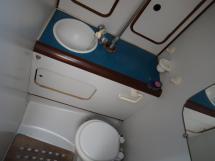 Oceanis 430 - Salle d'eau