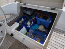 Oceanis 430 - Coffre de cockpit bâbord