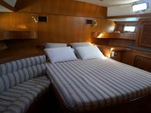 Tayana 58 - Lit double de la cabine arrière