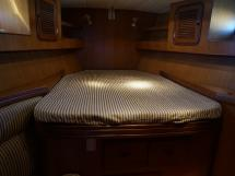 Tayana 58 - Lit double de la cabine avant