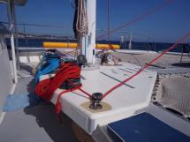 Ayc - Catamaran Tahiti 75 - Manoeuvres