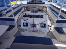 Ayc - Catamaran Tahiti 75 - Poste de pilotage