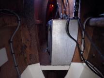 Ayc - Catamaran Tahiti 75 - Coque babord réservoir GO