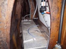 Ayc - Catamaran Tahiti 75 - Coque babord réservoir d'eau