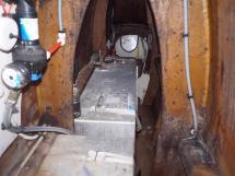 Ayc - Catamaran Tahiti 75 - Coque babord réservoirs