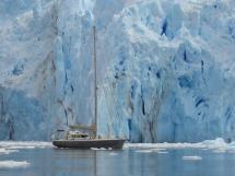 ALUMINIUM CUTTER 53' - Dans les glaces