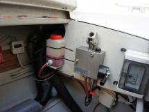 Système de relevage hydraulique de la dérive