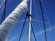 RM 1260 Biquilles / Twinkeels - Enrouleur de trinquette et mât