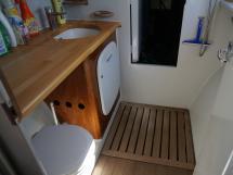 Catamaran 51' - Salle d'eau