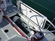 RM 1260 Biquilles / Twinkeels - Grand coffre de cockpit arrière