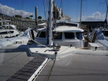 Catamaran 51' - Vue du rouf