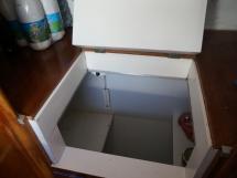 Catamaran 51' - Réfrigérateur en glacière