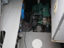 Catana 582 Caligo - Cale moteur bâbord