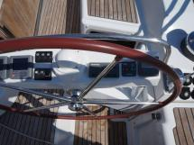 AYC - Jeanneau 57 - Barre à roue
