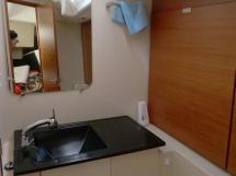Dufour 485 Grand Large - Salle d'eau de la cabine arrière tribord